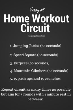 home workout circuit
